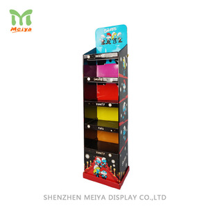 Customized cardboard floor displays, Children carton type display stands
