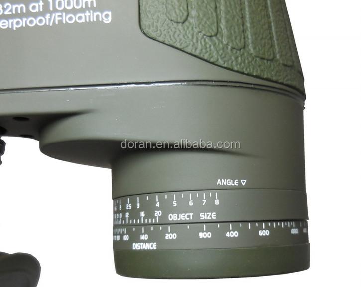 Wasserdichtes militärfernglas 10x50mm mit entfernungsmesser und