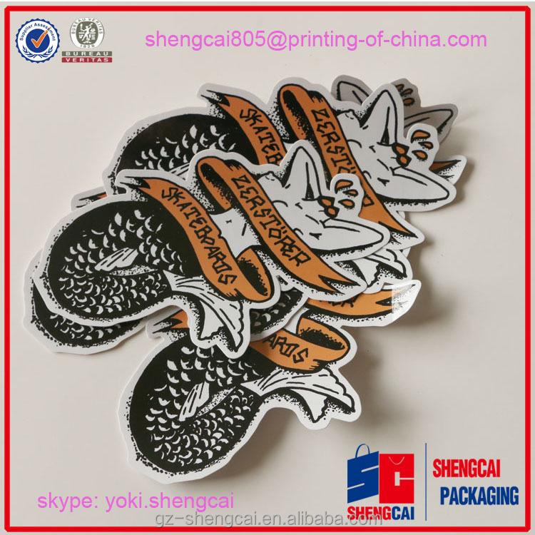 Best Price Custom Die Cut Stickers Die Cut Cartoon Sticker - Best custom die cut stickers
