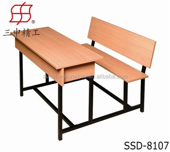 wooden school desk and chair childrens school furniture wooden desk and bench chair and