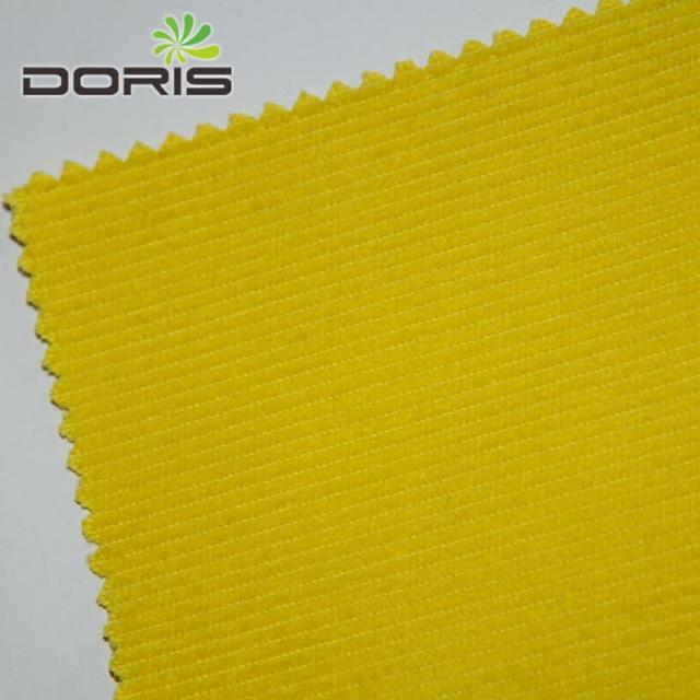 14 wale 100%cotton yellow heavy corduroy fabric for women and mens pants