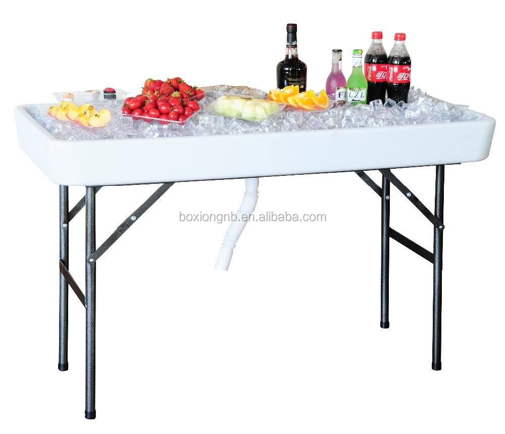 Füllen \'n Chill Party Tisch-lebensmittel/service/eis/getränke Tisch ...