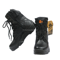 military genuine split leather ourdoor military tactical boots