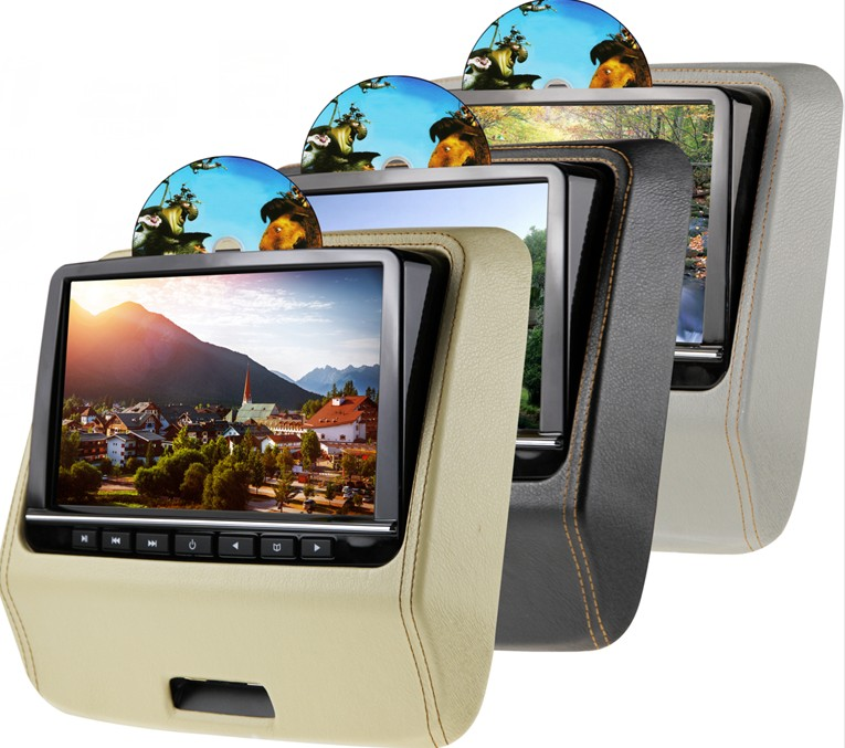 CARAVAN 10% Save High Resolution Game Disc Large Screen Active Headrest Car DVD Monitor Player