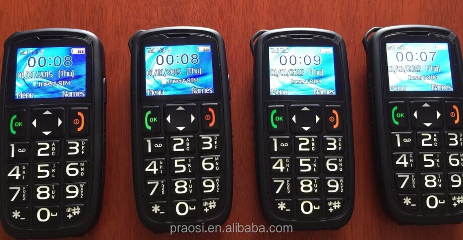 quality handphone with Frequency(MHZ )GSM 850/900/1800/1900MHz quadband elder phone