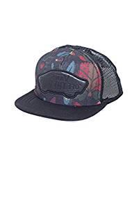 783e0aebbe Get Quotations · Vans Beach Girl Trucker Hat - Black