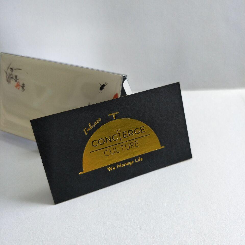 Gold Foil Embossed Business Cards, Gold Foil Embossed Business Cards ...