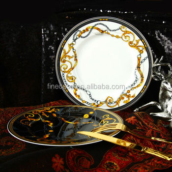 7.5 Inches Luxury Fine Bone China Dinner Plate set of Knight & 7.5 Inches Luxury Fine Bone China Dinner Plate Set Of Knight - Buy ...