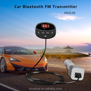 FM Radio Wireless Transmitter Receiver Adapter Universal Bluetooth 4.2 Car Kit Music Streaming & HandsFree Talking