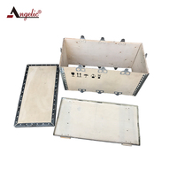 Angelic Chinese Suppliers Wholesale Collapsible Plywood Packing Box Wooden Shipping Crates