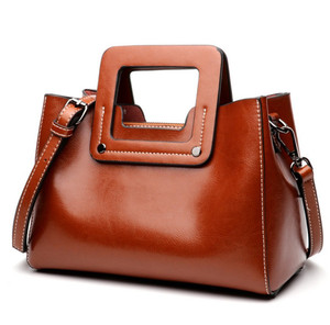 1edffb023454 Oem Fashion New Design Genuine Leather Ladies Handbag Women Bags Female  shoulder bag