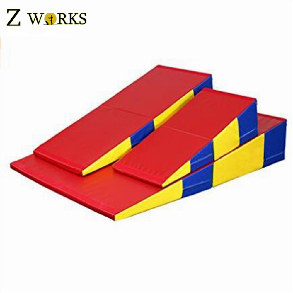 package mats four floor cube incline and wedge fold p mat gymnastic asp gymnastics