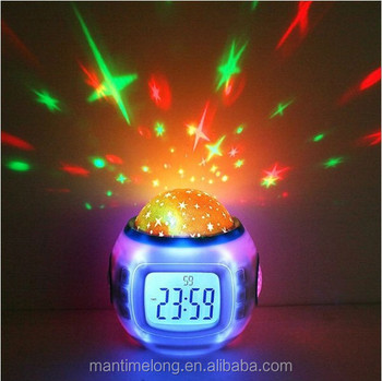 Star ceiling projector night light led clock buy projector night star ceiling projector night light led clock mozeypictures Gallery