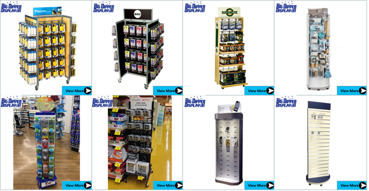BDD-AC629 mobile phone store showcase mobile phone display shelf