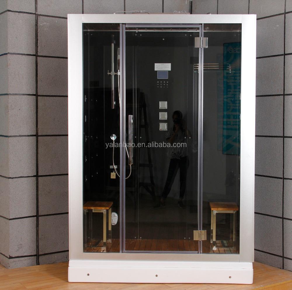 sauna de vapor cabina de ducha de hidromasaje para personas con bluetooth ducha