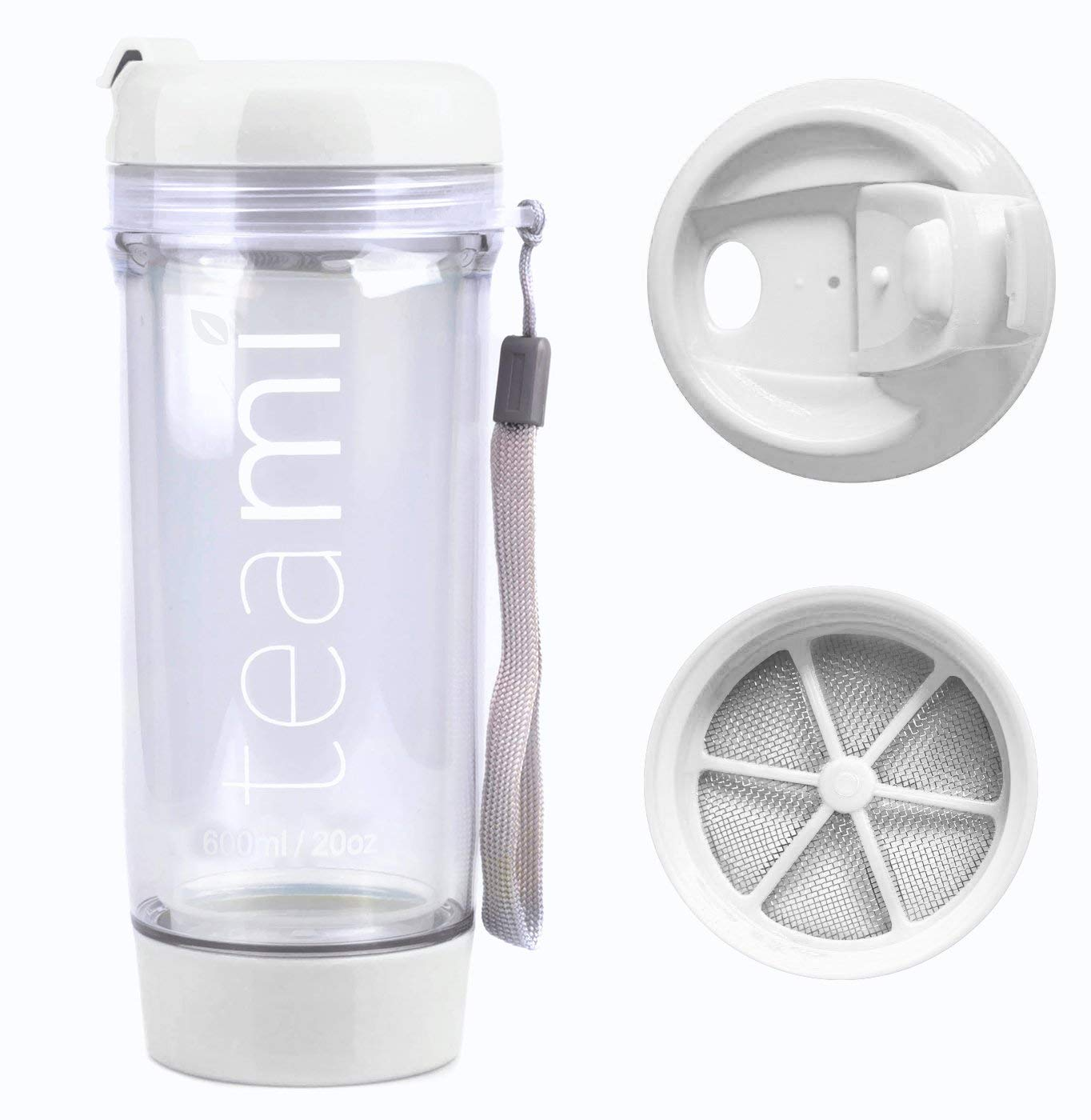 89022559395 Get Quotations · FRUIT INFUSER Water Bottle Tumbler with a Lid | 100% BPA  FREE | Our Best