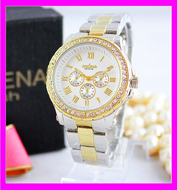 K6938 new arrival cheap fashion geneva brand watch