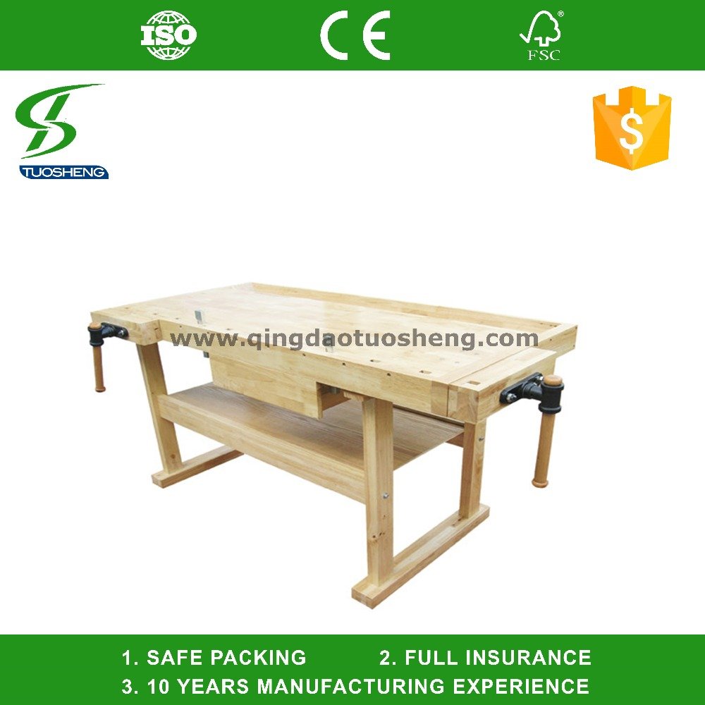 Pleasant Beech Wooden Work Bench For Carpenter Wb018 Buy Woodworking Vise Aluminum Folding Workbench Glass Drilling Machine Product On Alibaba Com Short Links Chair Design For Home Short Linksinfo