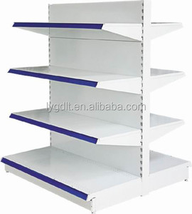 Double Side Supermarket Shelf With Stopper Front For Bulk Price