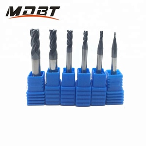 1-20mm 2/4 Flutes CNC Router Bits Tools Milling Cutter Tungsten Coating Square hss carbide end mills