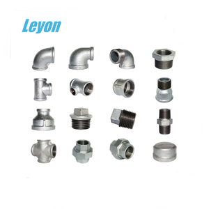 many sizes available free samples bathroom fittings names in pipe fittings 1/12 swivel elbow barb fitting gi plain malleable tee