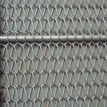 Conveyor Super thin metal flexible screw conveyor mesh belt