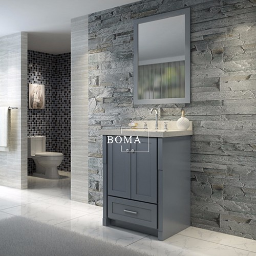 boma factory direct bathroom vanities with mirror bmc c0224 gry buy factory direct bathroom