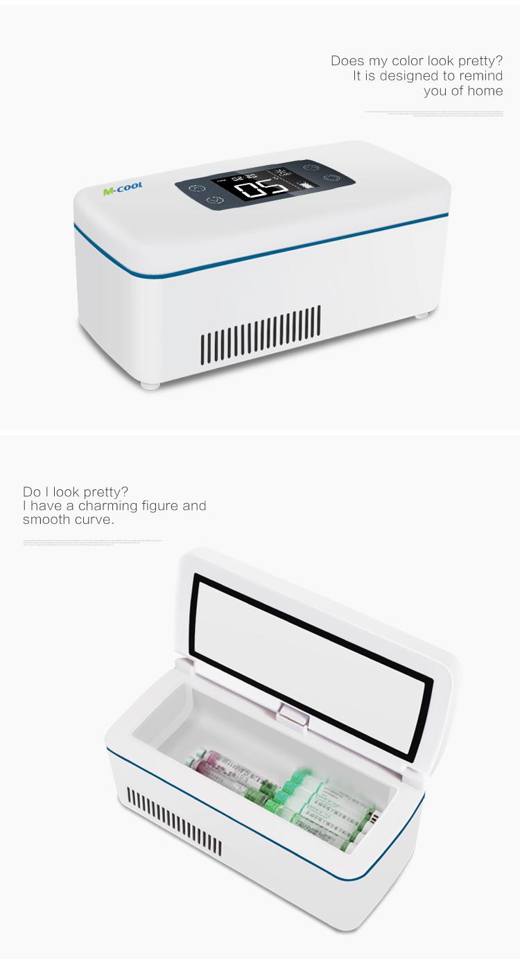 Solar Power Cooler M Cool 12hours Runtime Samsung Battery Powered Mini Fridge 12v Dc