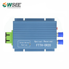 Cable TV WDM Optical Fiber FTTH Receiver / FTTH Mini Node