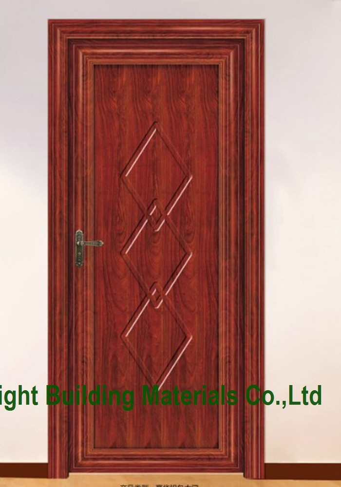 Single doors contemporary interior doors with frosted for Latest main door