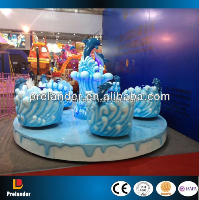 Rotating tea cup ride amusement park rides products with cheap price