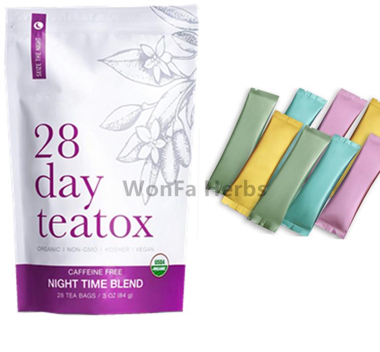 Fitness Detox slim tea powder soft drinking,Instant detox slim tea,Customized flat tummy fat burner detox slimming tea - 4uTea   4uTea.com