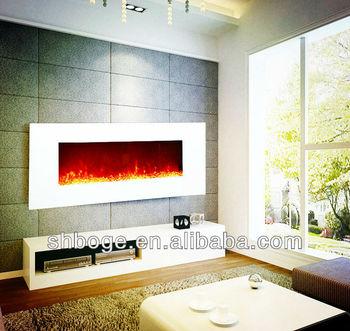 220v 240v Weiße Wand Montiert Verkauf Elektro Kamin Wand Ef431