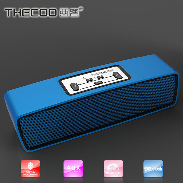 thecoo The best selling refined high end aluminum bluetooth hifi stereo speaker
