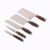 high quality 5pcs color wooden handle stainless steel kitchen knife set with wooden block