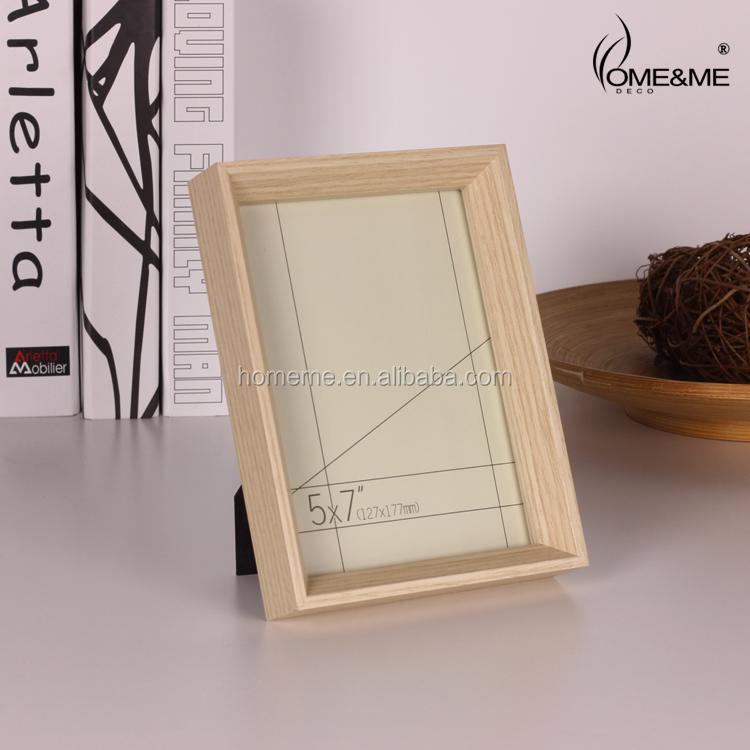 Cónico de madera marco de fotos marco de fotos caja de sombra-Marco ...