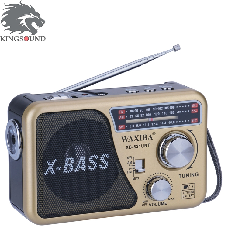 Multifunctional XB-521URT AM/FM Radio Speaker Parts From China