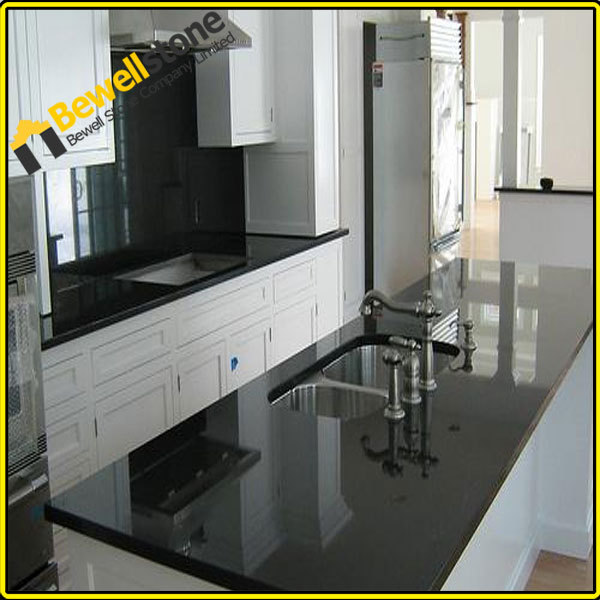 China Granite Absolutely Black Epoxy Resin Kitchen