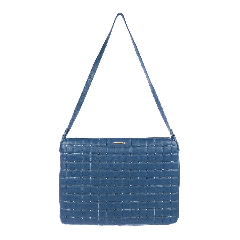 "Rebecca Minkoff Women's 13"" Laptop Shoulder Bag One Size Denim Blue"