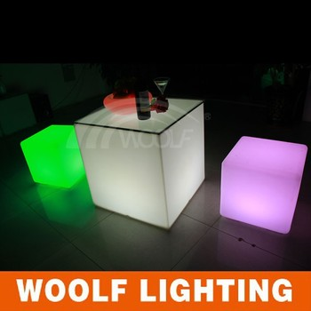 Customized led outdoor lighting cube illuminated led cube chair customized led outdoor lighting cube illuminated led cube chair make led light cube mozeypictures Images