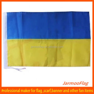 Factory direct sale custom cheap soccer sports country flag Ukraine flag