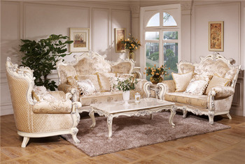 French Antique Sofa Royal Furniture Set Luxury