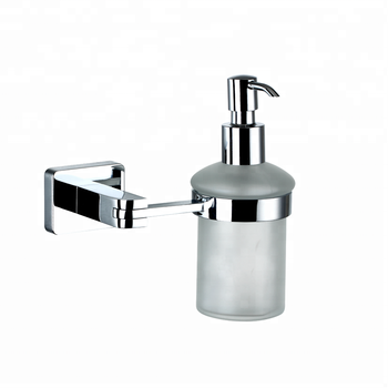 New Bathroom Kitchen Accessory Wall Mounted Zinc Alloy Chrome Liquid