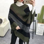Canada and US store hot selling winter poncho tippet scarf
