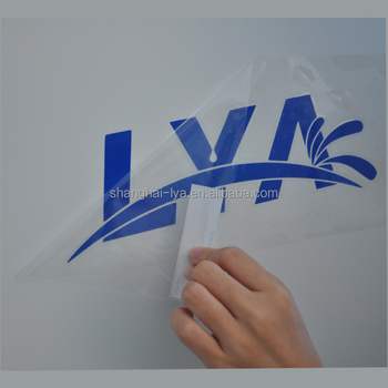 China Manufacturer Clear Transfer Tape Self Adhesive Vinyl for transfering cutting graphic