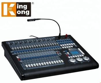 Easy Operation Kingkong 2048 Dmx Stage Light Controller With Individual Generators Programmable Led Lighting Foot