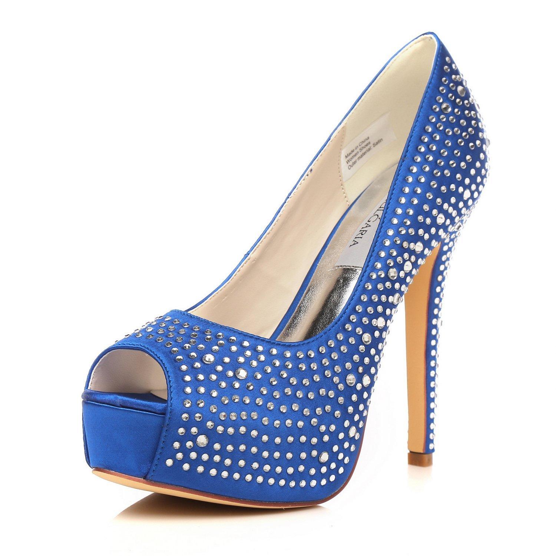 233e3419c03 Cheap Royal Blue Peep Toe Shoes, find Royal Blue Peep Toe Shoes ...