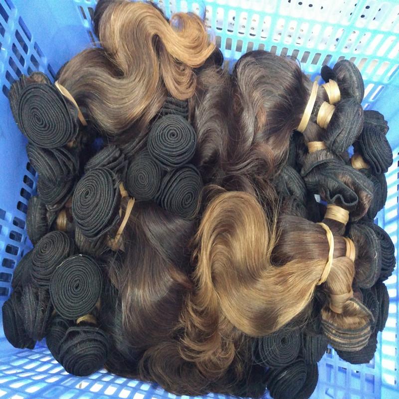 Cheap Queen Hair Wholesale Brazilian Body Wave Wavy Virgin Hair Dark
