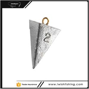 Pyramid Lead Fishing Sinker Molds For Bottom Fishing