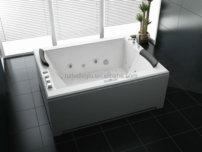 Indoor Portable Rectangle Freestanding Corner Hot Tub
